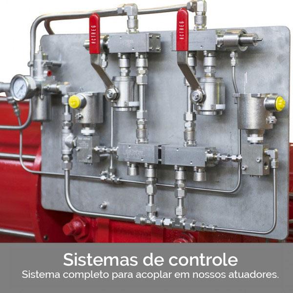 SISTEMAS DE CONTROLE COMPLETO PARA ACOPLAR NOSSOS ATUADORES
