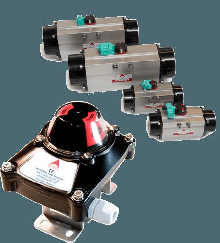 valve monitoring positon,monitorización posicion valvulas